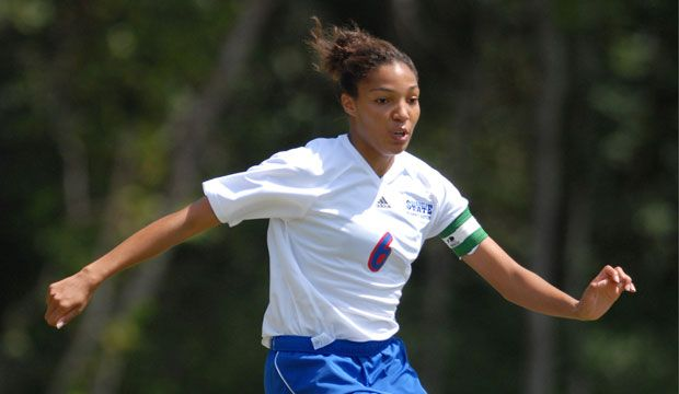 As a coordinator in marketing communications with the United States Olympic Committee in Colorado Springs, Colo., the former GSU soccer star had her sleeves rolled up promoting U.S. Olympic hopefuls and nominees.#GSU #georgiastateuniversity