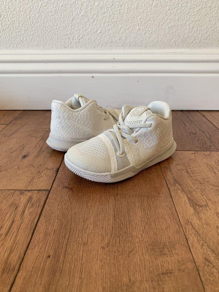 quality design 64127 8cf9c Nike Kyrie 3 Toddler Sneaker White Size 8c #fashion ...