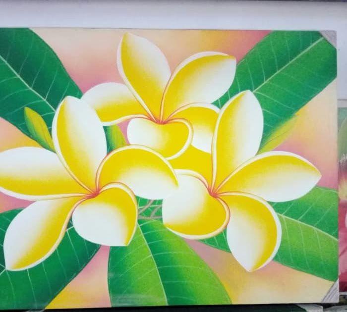 19 Sketsa Lukisan Bunga Kamboja Jual Lukisan Bunga Kamboja Kembang Jepun Plumeria 80 X 60 Kanvas Kayu C Kab Buleleng Budha Travel Di 2020 Lukisan Bunga Bunga Gambar
