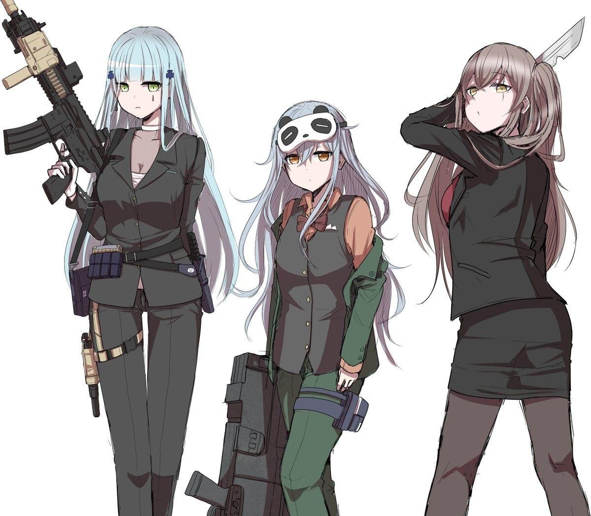 Pin by Shazama Zul on Anime GFL's