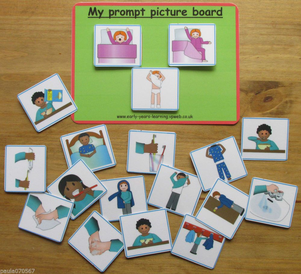 My prompt picture board pecs cards~Communication~ SEN~Autism~Learning~Home use