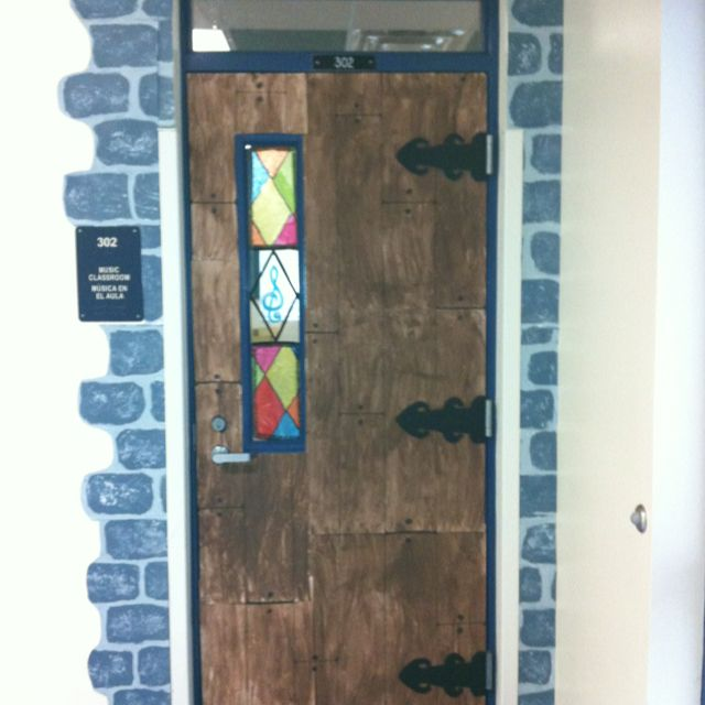 I Like How Just A Hint Of Stone Around The Door Works To Make The Whole  Wall Seem Stone. Great Cost Saving Idea!