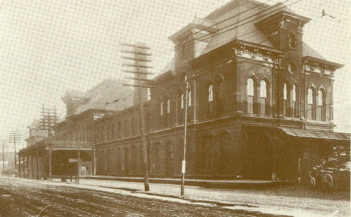Union Depot In West Bottoms Kansas City Kansas City Missouri