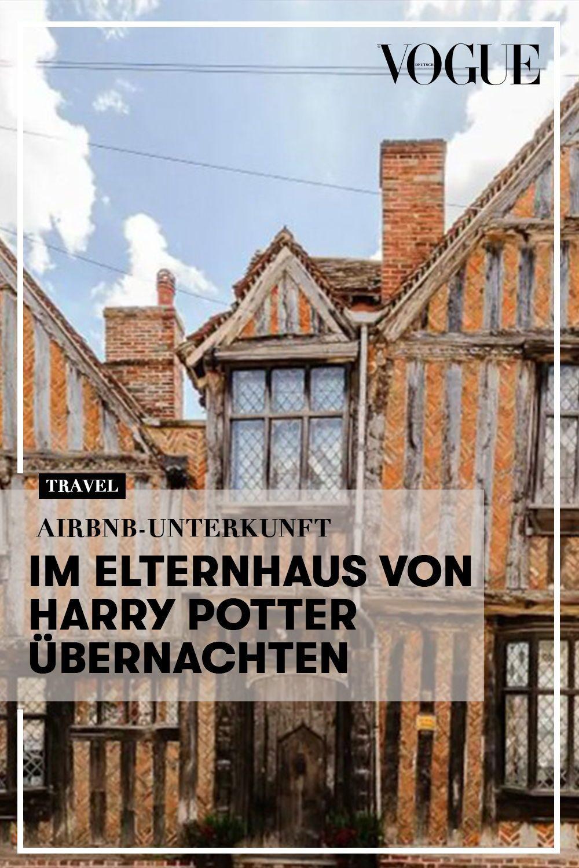 Airbnb Unterkunft Im Elternhaus Von Harry Potter Ubernachten Elternhaus Ubernachten Urlaub Buchen