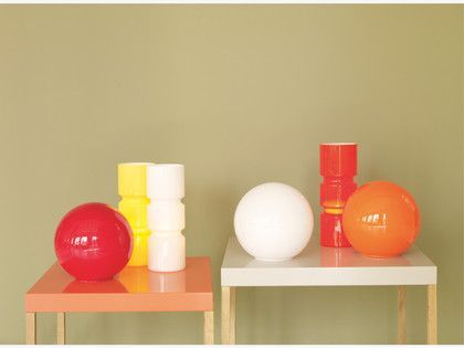 Habitat fitz glass table lamp orange google search