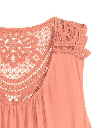 Langes Kleid | Puderrosa | Damen | H&M DE | Modestil ...