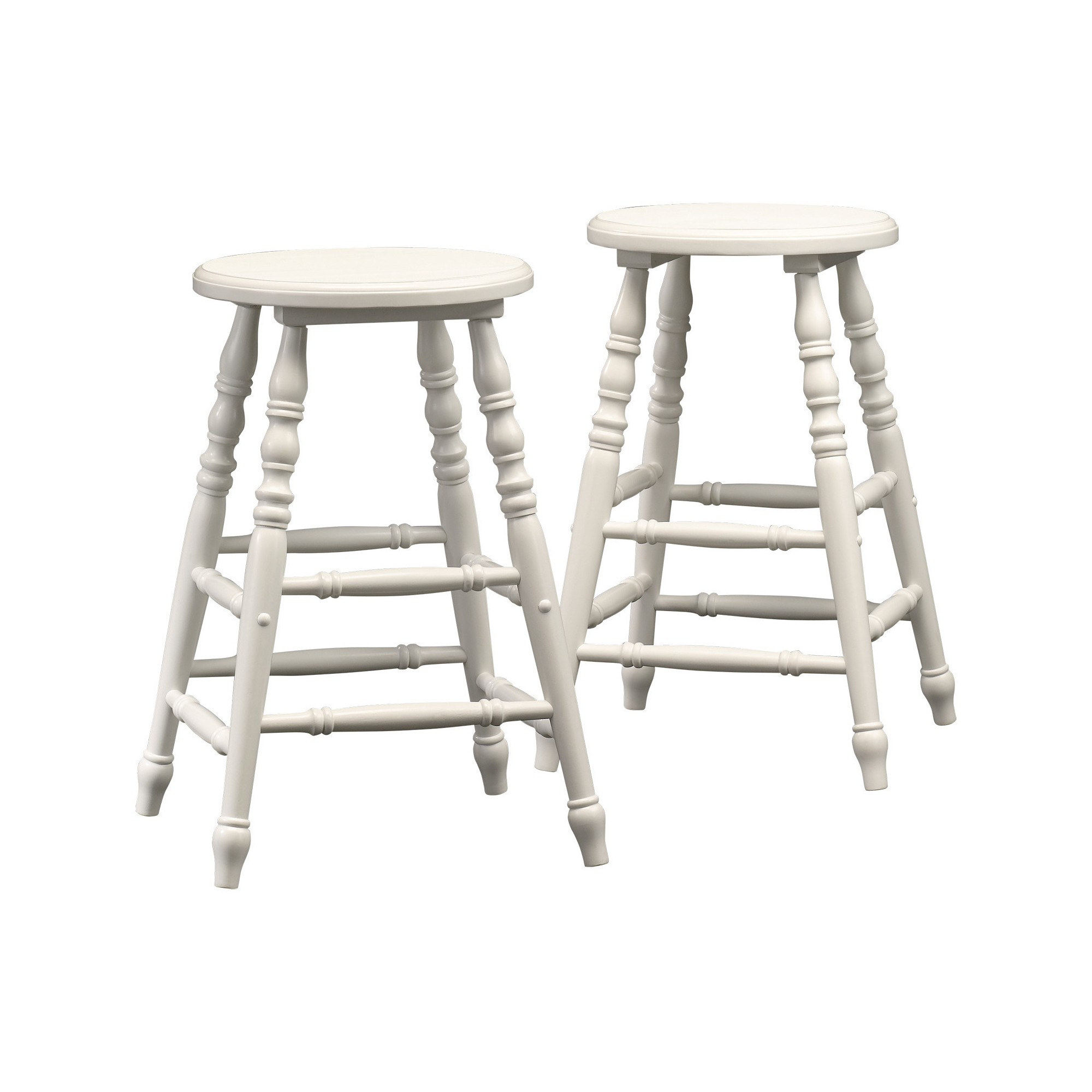 Cottage Road Counter Height Stool (Set Of 2)  White