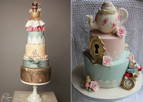 Teapot Cake Tutorial Google Search Alice In Wonderland Cakes