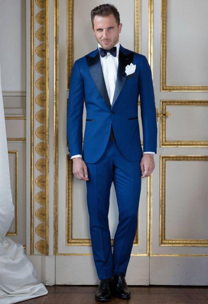 Veste bleu chemise noir