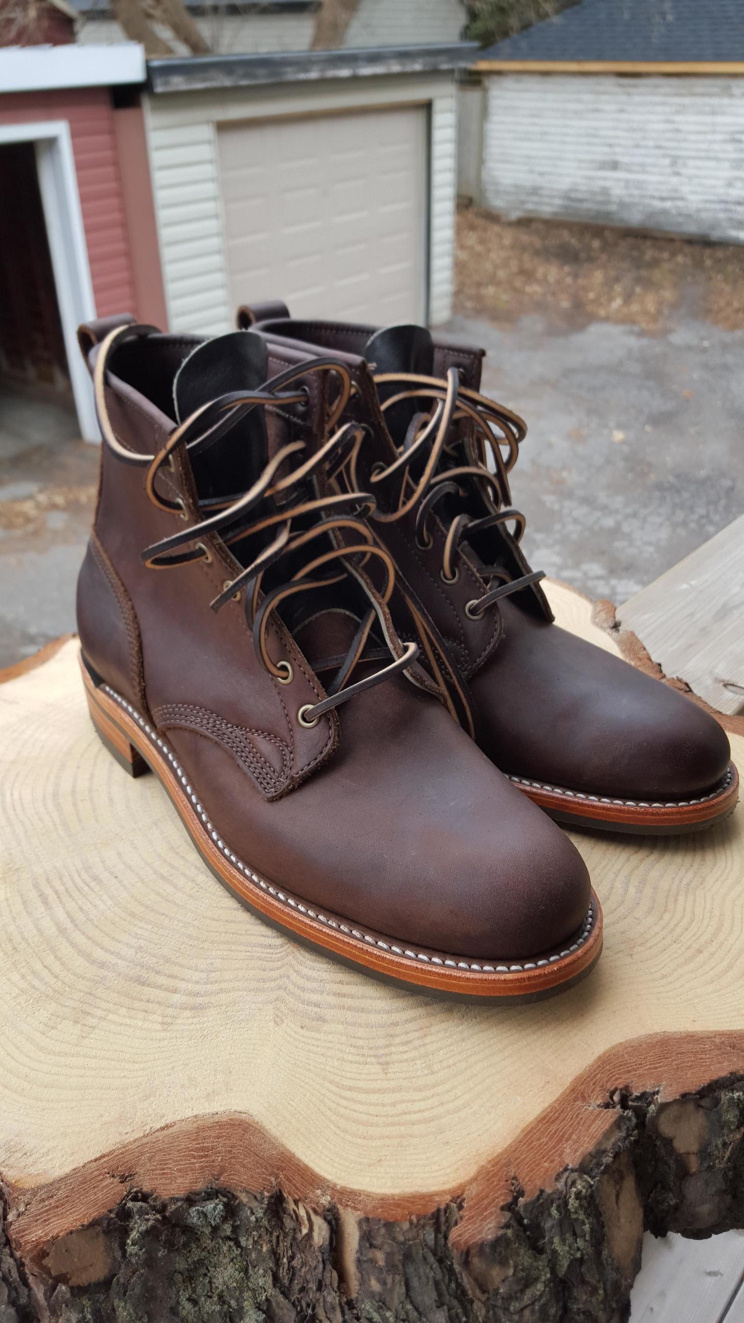 d37e58b0e2b Dayton Brown Oil Tan Service Boots | Boots | Boots, Dayton boots, Brown