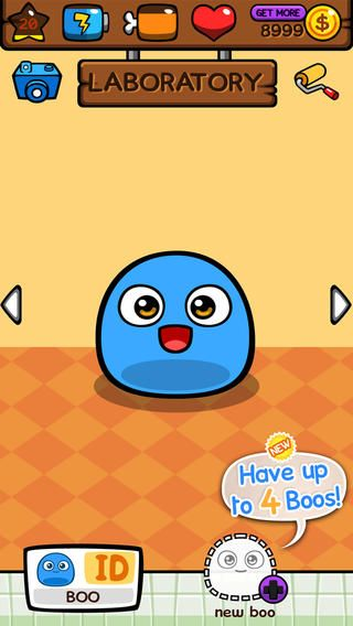 My Boo Virtual Pet With Mini Games For Kids Boys And Girls Virtual Pet Mini Games Pet Monsters