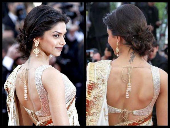 7 Deepika Padukone Bun Hairstyles You Must Try | Deepika ...