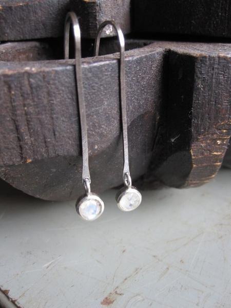 925 Oxidised Silver earrings.