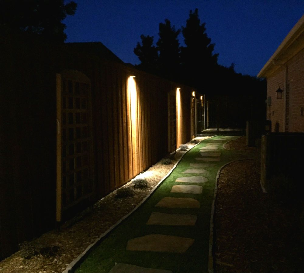 Landscape Lighting Near Me: Fence, Step & Wall Lighting Installation By