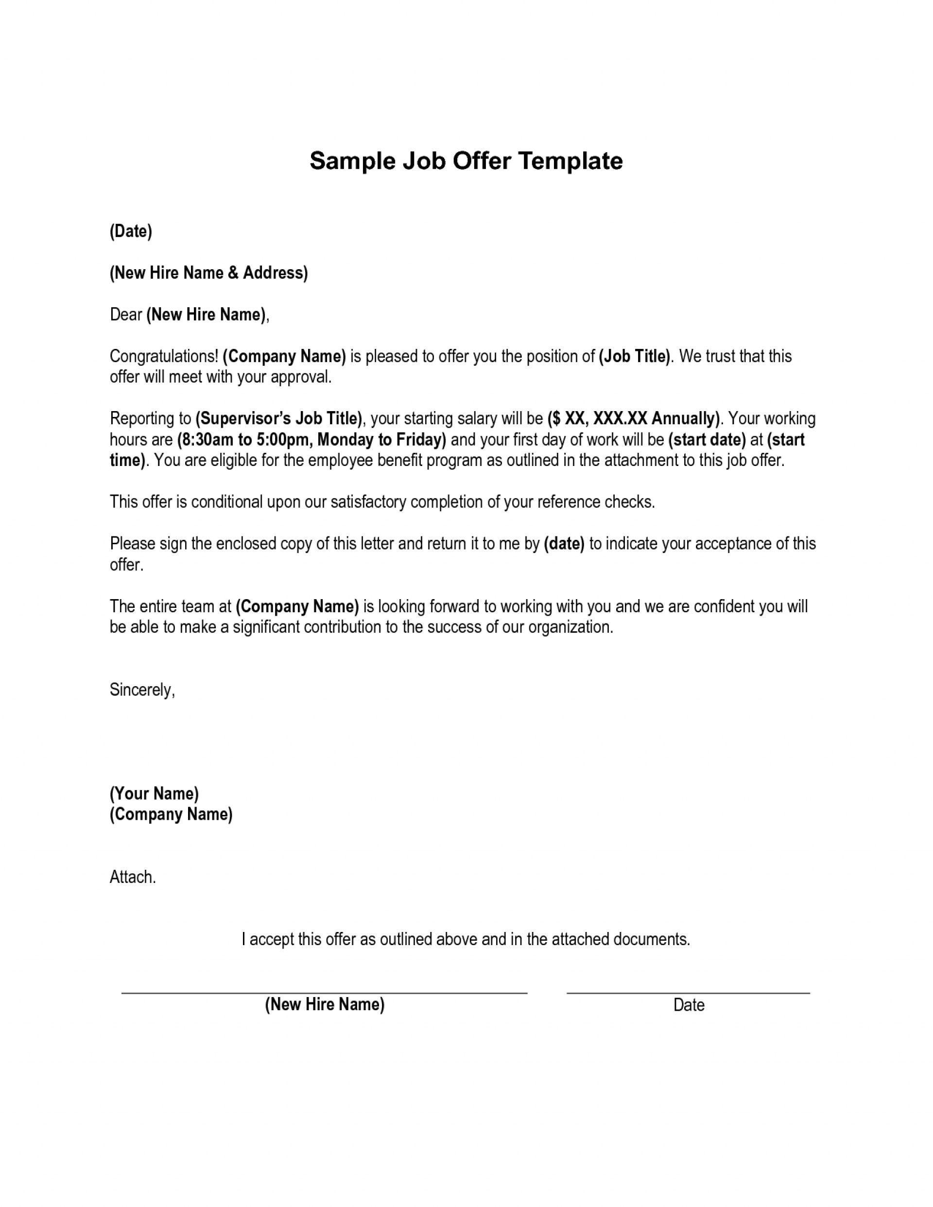 new job offer cancellation letter job offer letter. Black Bedroom Furniture Sets. Home Design Ideas