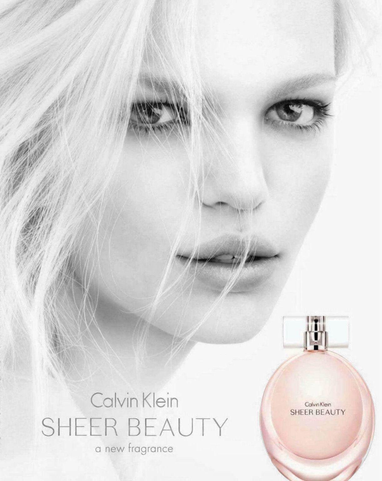 The Beauty Model Calvin Klein Sheer Beauty Sheer Beauty Ck Sheer Beauty