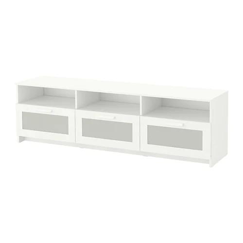 Brimnes Szafka Pod Tv Bialy 180x41x53 Cm Dodaj Do Listy Zakupow Ikea Tv Storage Ikea Glass Cabinet Doors