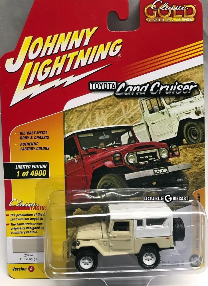 1//64 JOHNNY LIGHTNING CLASSIC GOLD 1980 Toyota Land Cruiser in BLACK