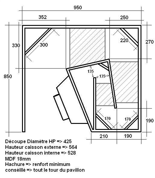 tapped horn recherche google audio en 2019 speaker design speaker plans et audio. Black Bedroom Furniture Sets. Home Design Ideas