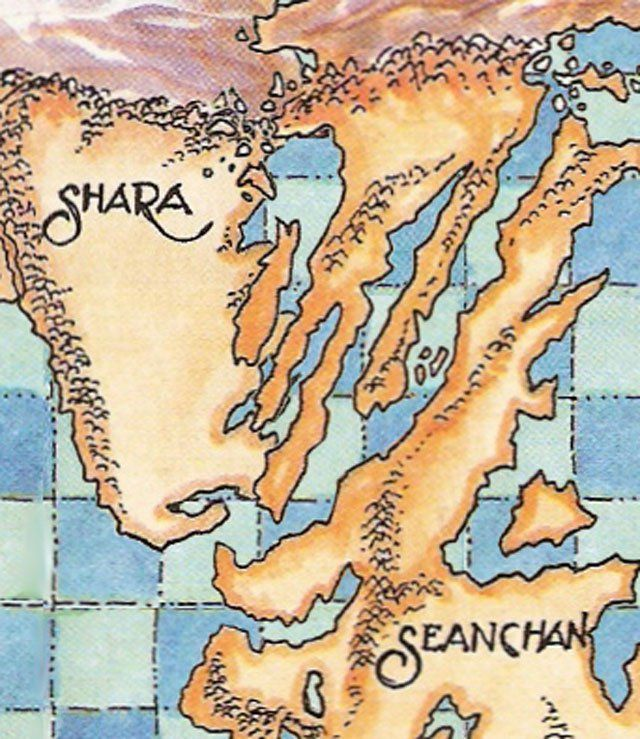 Wheel of time seanchan and shara article prophecies of the theres something weird about the world of robert jordans wheel of time gumiabroncs Choice Image