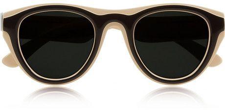 426970be151b Maison Martin Margiela + Mykita two-tone sunglasses on shopstyle.com ...