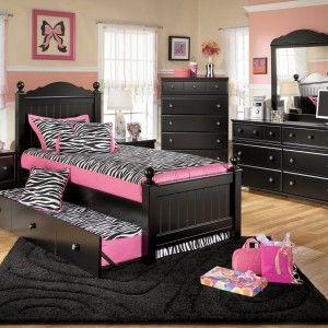 Zebra Loft Beds For Teens Interesting Shared Teenage Bedroom Idea