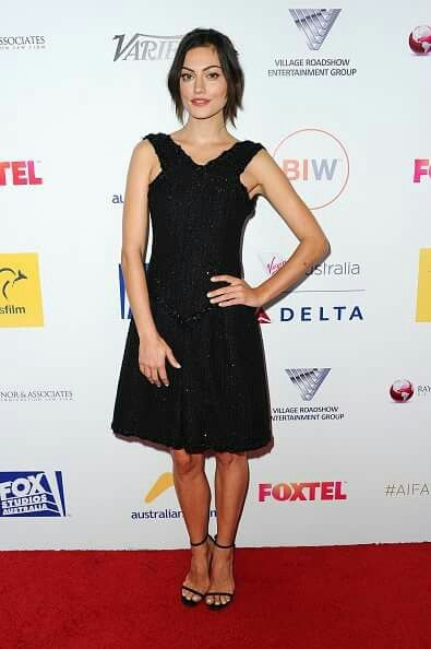 Phoebe At The 4th Annual Australians In Film Awards In