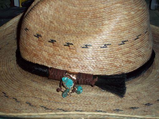 2daf6f52b3e Custom Made Beautiful Horse Hair Hat Bands Custom Made