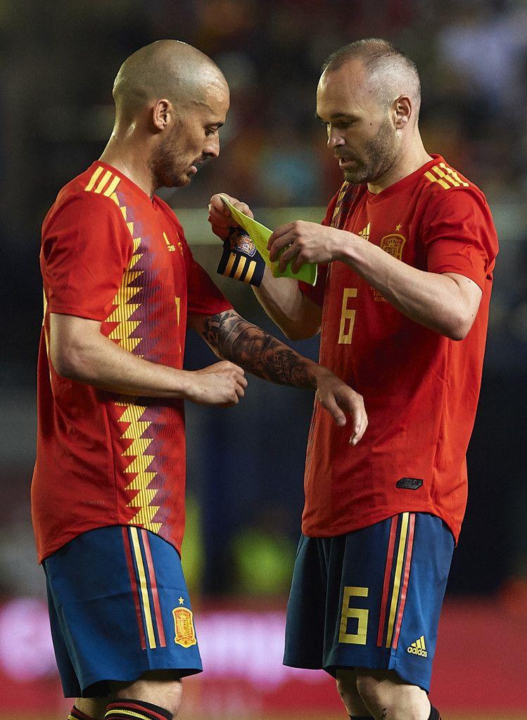 David Silva Andres Iniesta Spain Nt 2018 Iniesta Iniesta Spain Andres Iniesta