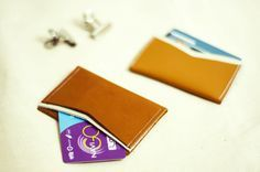 porte cartes cuir DIY | Couture | Leather,
