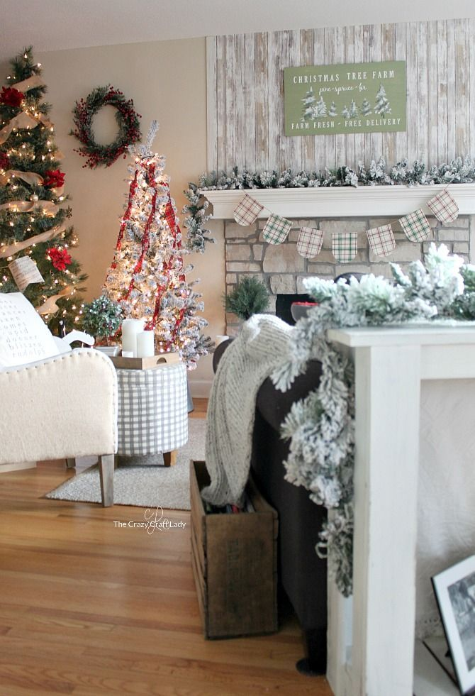 Simple Classic Christmas Decorating and Why I put up TWO