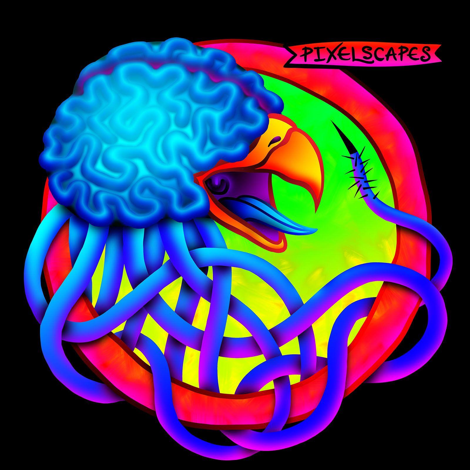 Is it too easy of a pun for me to call this a bird brain? At least ...