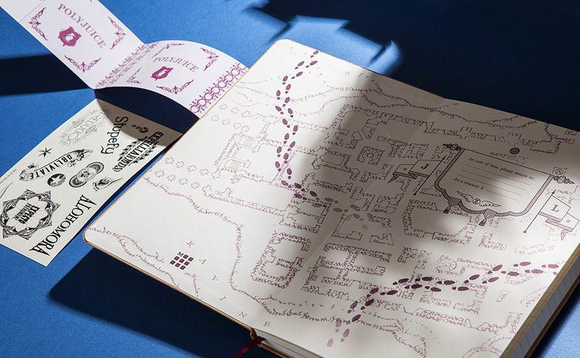 Estos 2 cuadernos Moleskine de Harry Potter te dejarán sin palabras ...