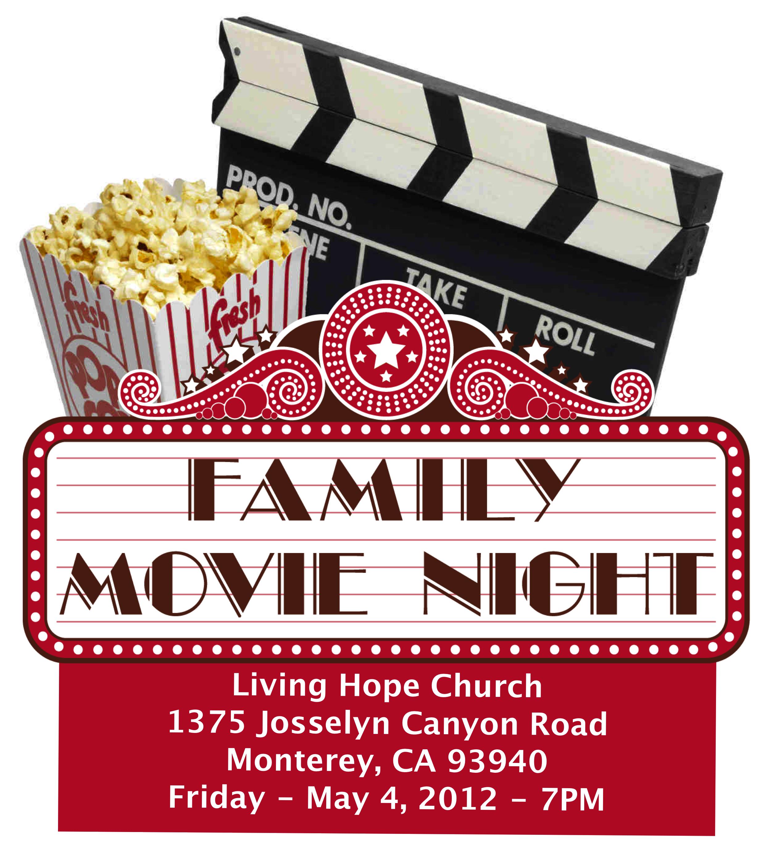 Movie night poster Artistic Ideas Pinterest – Movie Night Flyer Template