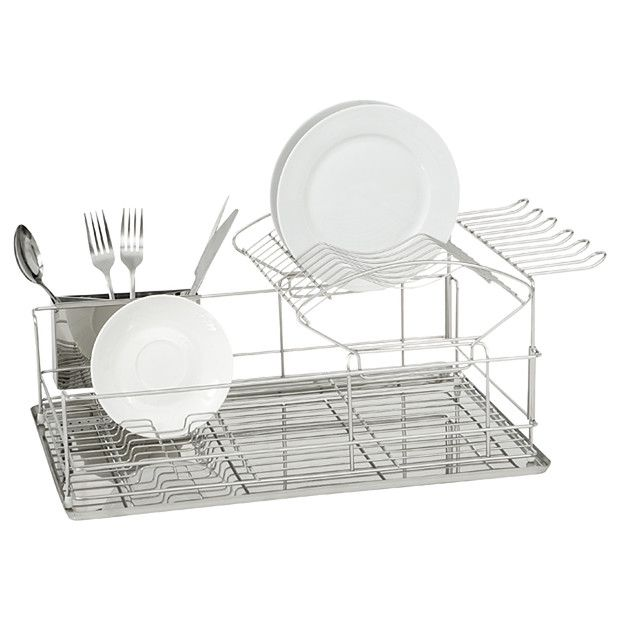 Target Dish Drying Rack 2 Tier Dish Rack  Target Australia  Kitchens  Pinterest  Dish