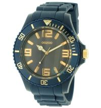 OOZOO Timepieces XL Navy Blue Rubber Strap C5028 - http   rologia ... 90164e132dd