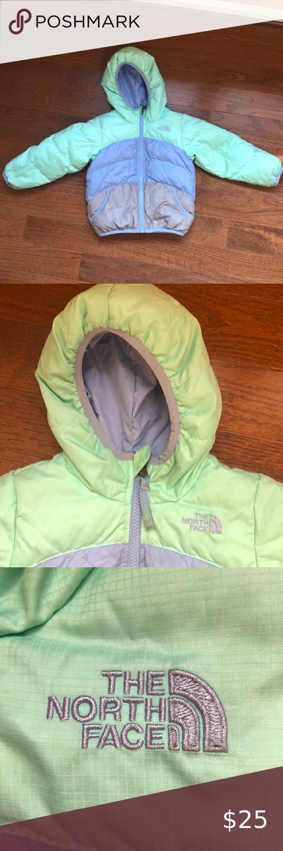 North Face Moondoggy Reversible 3t Down Parka Down Parka Toddler Winter Jackets The North Face [ 1740 x 580 Pixel ]