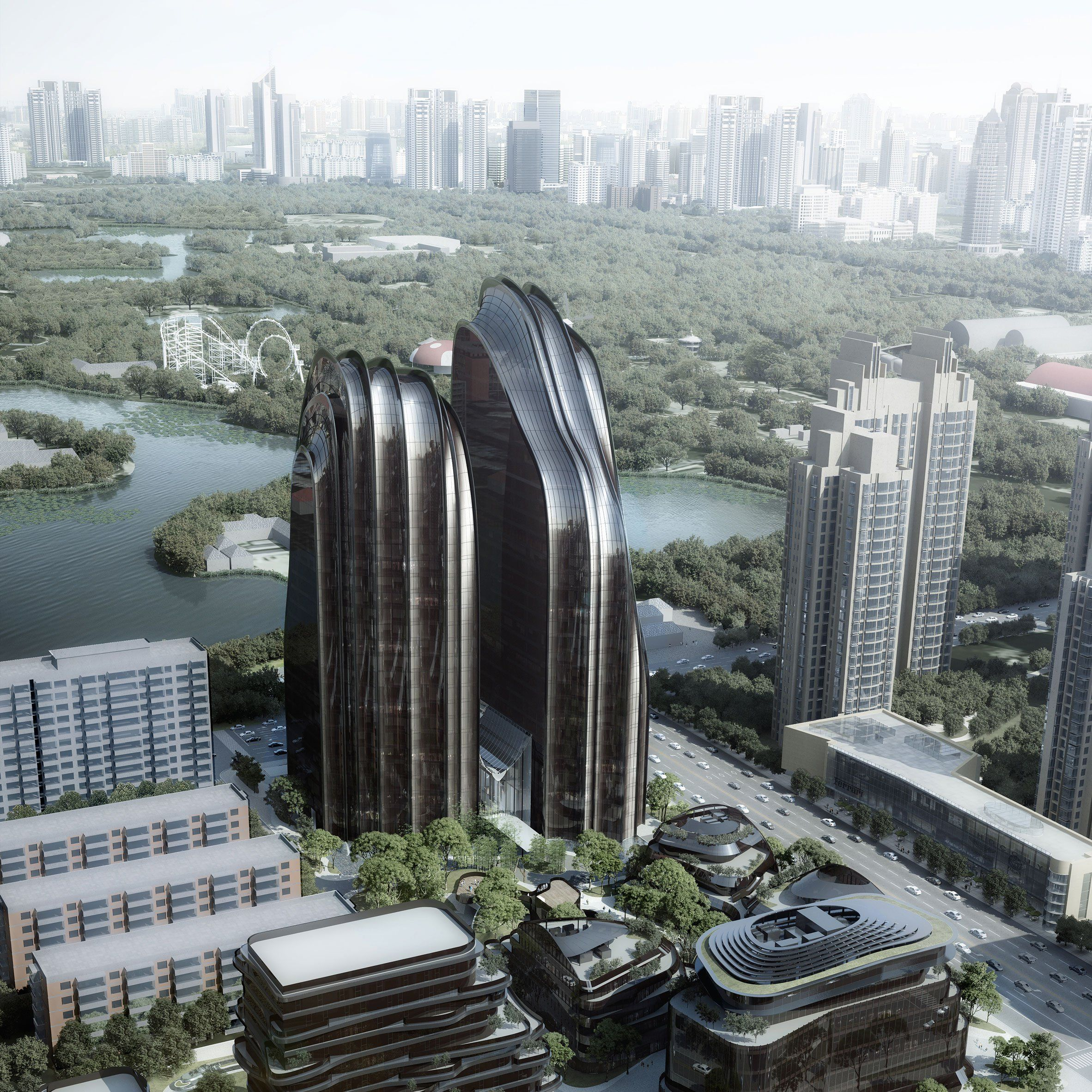 Chaoyang Park Plaza, China. For the past few years MAD ...