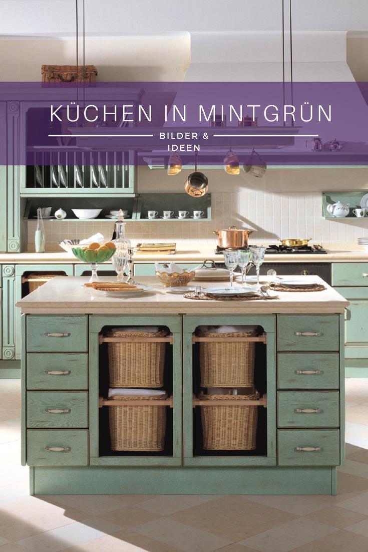 mintgrün in der küche schönsten bilder und ideen für neue