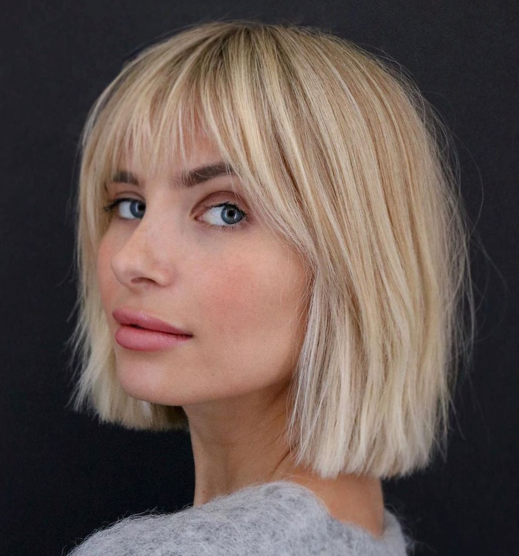 50 Newest Bob with Bangs Ideas to Suit Any Taste -