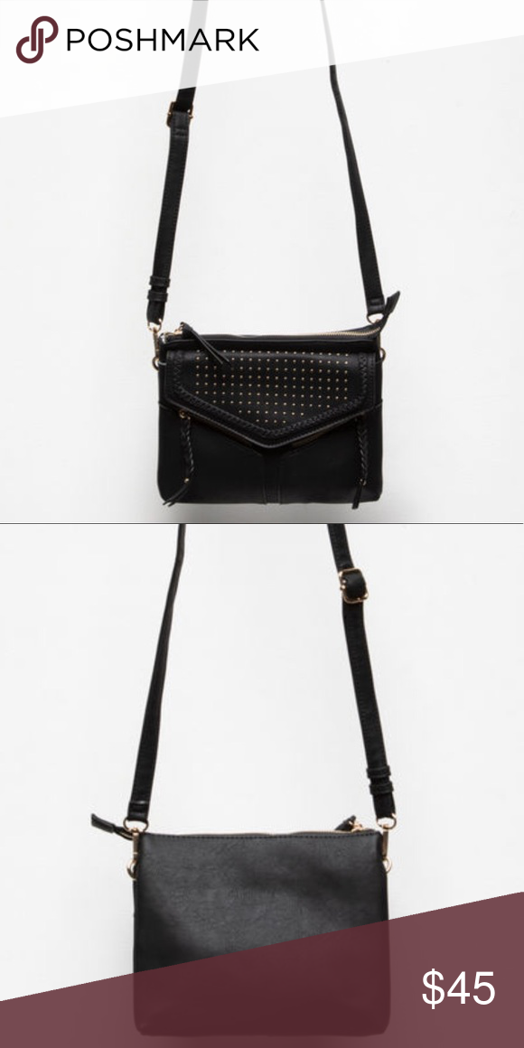 4f03cc60fdf4 Studded Leanna Bag From Free People line Violet Ray Leanna Stud  amp  Braid crossbody  bag