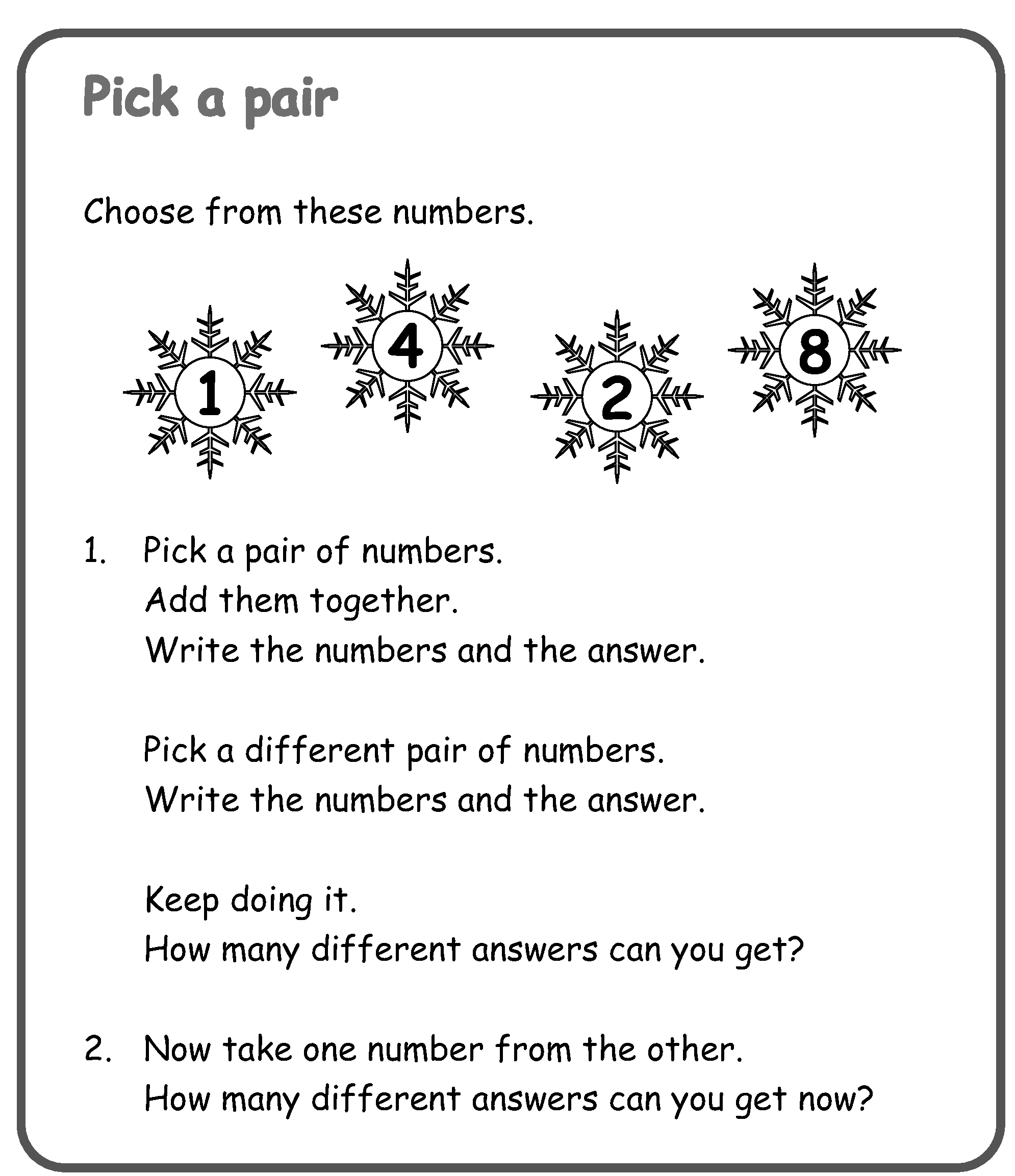 Solve one-step problems that involve addition and subtraction, using ...
