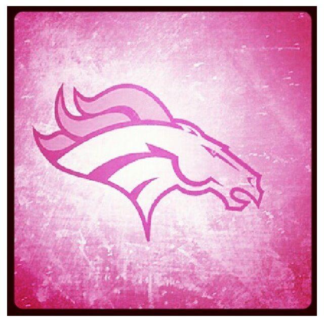 Broncos pink
