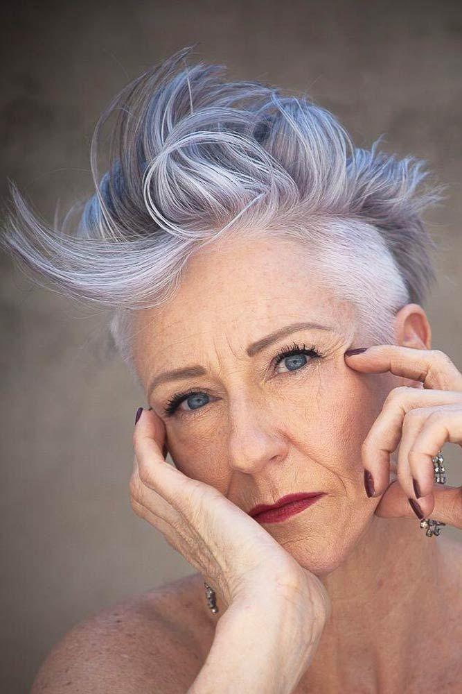 31 Pixie-Frisuren für Frauen über 50, die Frauen jeden Alters schmeicheln — Coole globale Frisuren #longpixiehaircuts