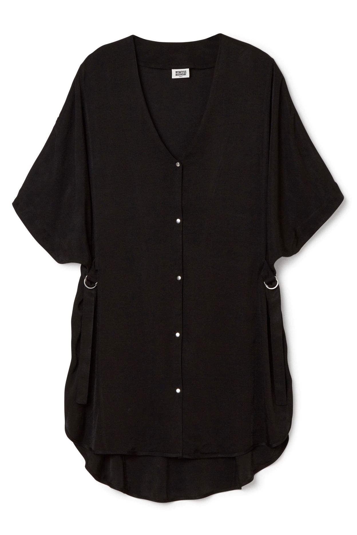 Weekday image 1 of Decon Shirt Dress in Black