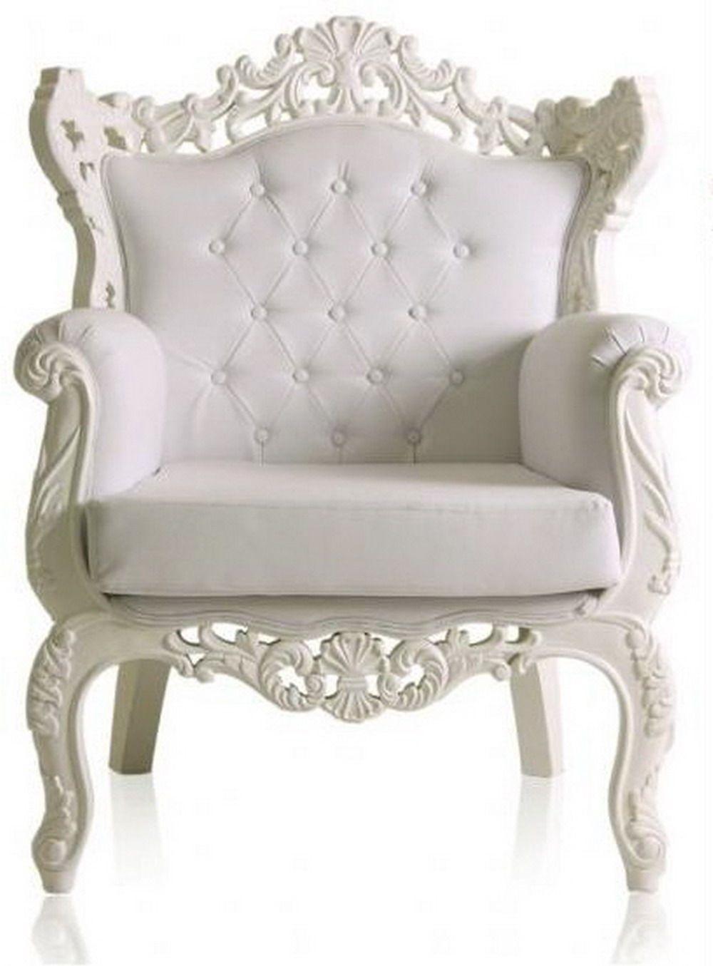 White Antique Chair I Think Got A