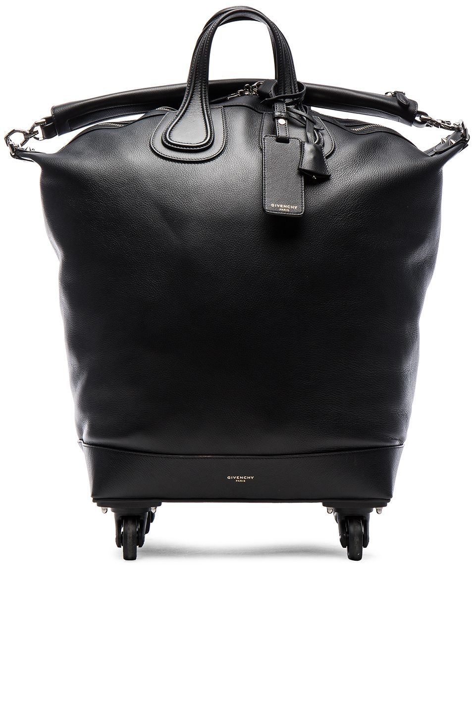 2d33a6d5f6 GIVENCHY Nightingale Trolley Bag. #givenchy #bags #trolley #leather #travel  bags #canvas #lining