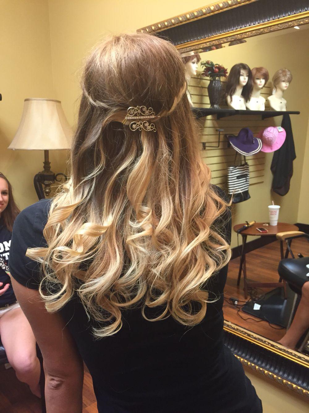 Prom hair #prom