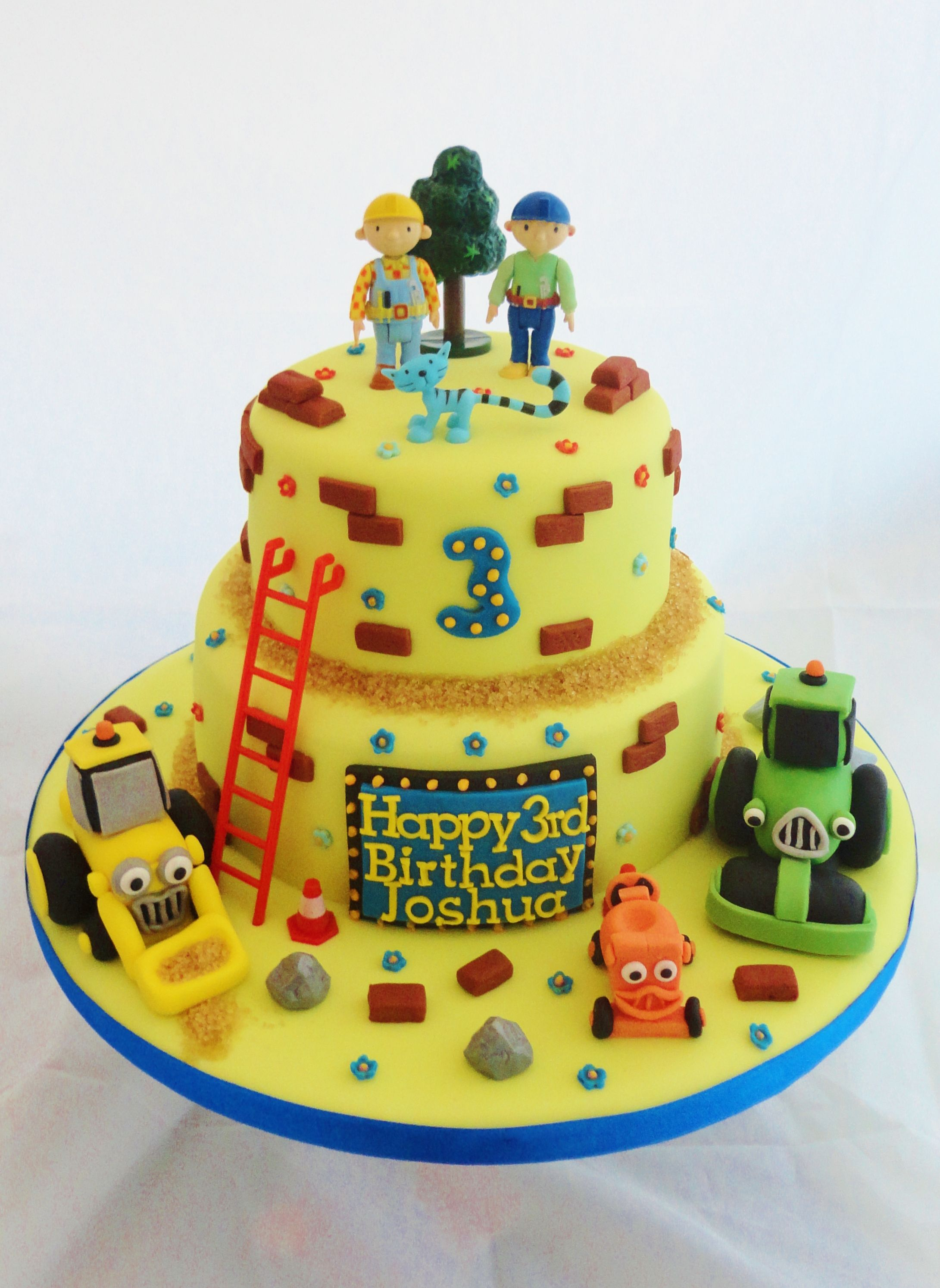 Bob the builder cake | Bob The Builder Cake in 2019 ...