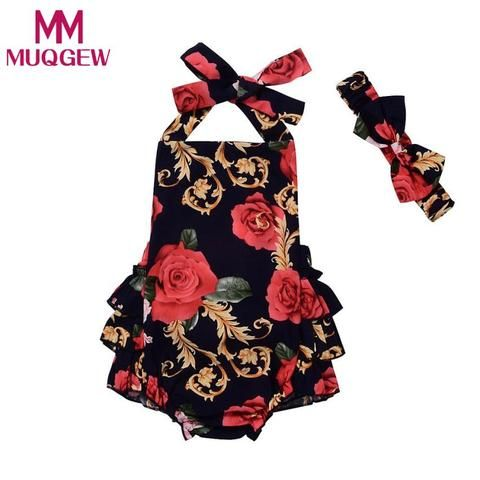 7c3ed832a MUQGEW Baby Clothing 2018 Hot selling Rompers Toddler Newborn Baby ...
